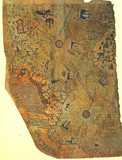 O Mapa De Piri Reis