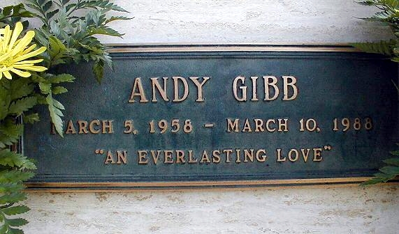 Andy gibb funeral