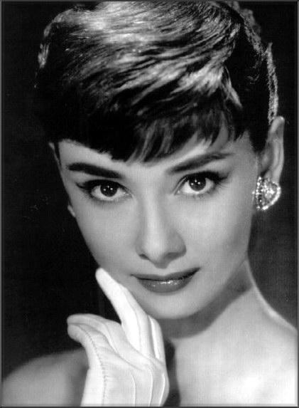 ... Hepburn, e Audrey se tornou Audrey Hepburn